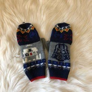 GAP Star Wars Flip Top Convertible Mittens (NWOT)